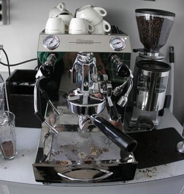 Coffee machine needs cleaning